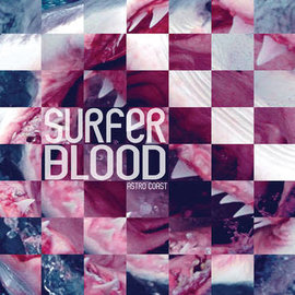 Surfer Blood ‎– Astro Coast LP 10 year anniversary blule/purple vinyl