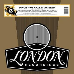 D Mob ‎– We Call It Acieed 12""
