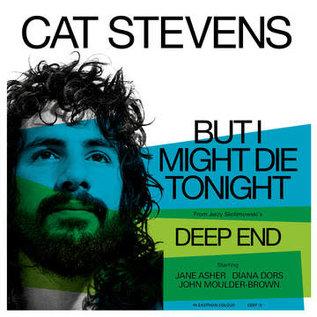 """Cat Stevens – But I Might Die Tonight 7"""" light blue vinyl"""