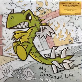 Motion City Soundtrack – My Dinosaur Life LP flaming vinyl