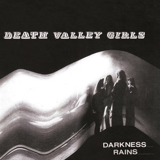 Death Valley Girls ‎– Darkness Rains LP yellow with red splatter vinyl