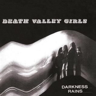 Death Valley Girls – Darkness Rains LP yellow with red splatter vinyl