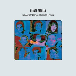 Blonde Redhead ‎– Melody Of Certain Damaged Lemons LP magenta viny