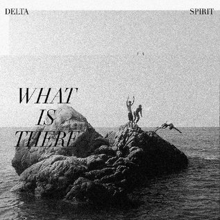 Delta Spirit ‎– What Is There LP clear with black marbleing vinyl