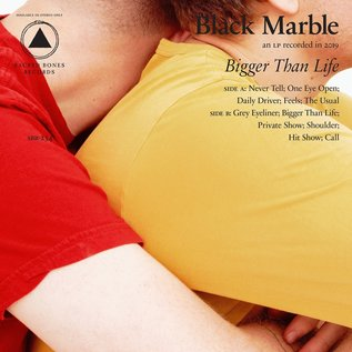 Black Marble ‎– Bigger Than Life LP red vinyl