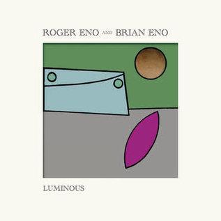Brian Eno and Roger Eno – Luminous LP translucent yellow vinyl