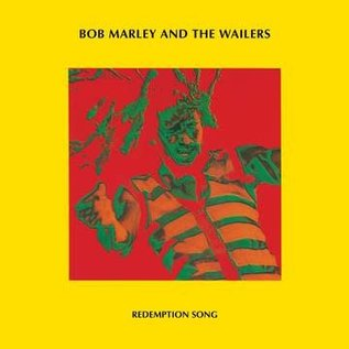 """Bob Marley & The Wailers – Redemption Song12""""  clear vinyl"""