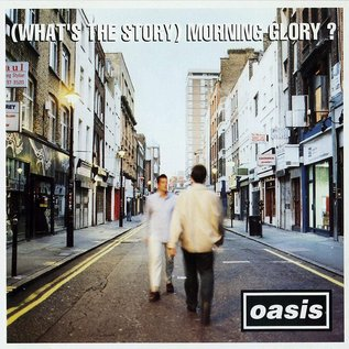 Oasis – (What's The Story) Morning Glory? LP silver vinyl