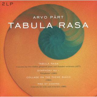 Arvo Pärt – Tabula Rasa LP