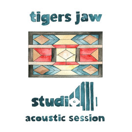 """Tigers Jaw – Studio 4 Acoustic Session 12"""" red vinyl"""