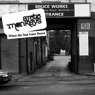 "Arctic Monkeys – When the Sun Goes Down 7"" vinyl"