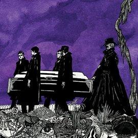 Pallbearer – 2010 Demo LP purple inside ultra clear w/ purple and black splatter