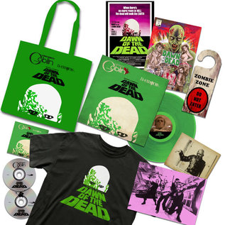 Claudio Simonetti's Goblin, Daemonia ‎– George A. Romero's Dawn Of The Dead LP deluxe on green vinyl