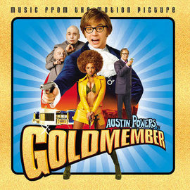 Various ‎– Austin Powers In Goldmember LP gold vinyl