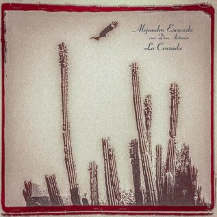 Alejandro Escovedo Con Don Antonio ‎– La Cruzada LP red. white, & green striped vinyl