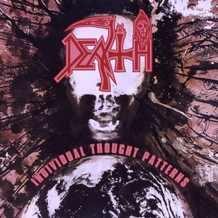 Death – Individual Thought Patterns LP clear vinyl with pinwheels