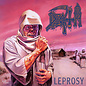 Death – Leprosy LP clear vinyl with neon magenta pinwheels