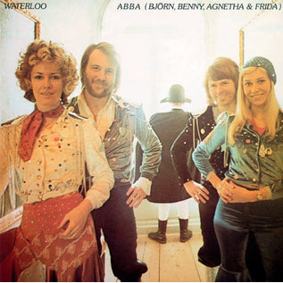 ABBA – Waterloo LP