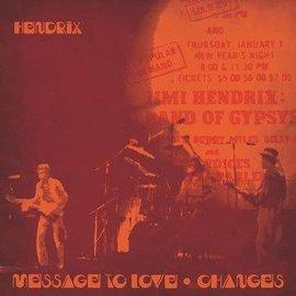 "Jimi Hendrix – Message To Love / Changes 7"" red & yellow splatter vinyl"