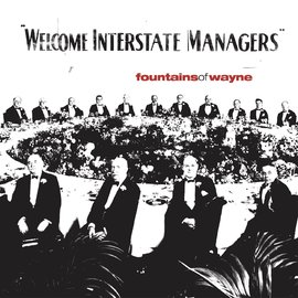 Fountains of Wayne – Welcome Interstate Managers LP natural with black swirl vinyl