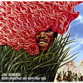 "Jimi Hendrix – Merry Christmas And Happy New Year 10"" vinyl"