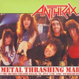 Anthrax – Metal Thrashing Mad LP