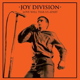 "Joy Division – Love Will Tear Us Apart 12"" orange vinyl single"