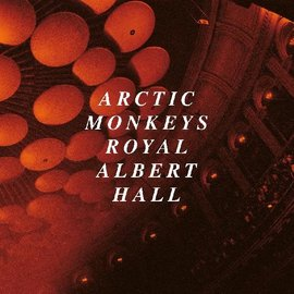 Arctic Monkeys – Live At The Royal Albert Hall LP clear vinyl