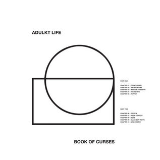 Adulkt Life – Book of Curses LP white vinyl