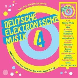 Various – Deutsche Elektronische Musik 4 (Experimental German Rock and Electronic Music 1971-83) LP