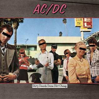 AC/DC -- DIRTY DEEDS DONE DIRT CHEAP LP