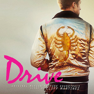 Cliff Martinez ‎– Drive (Original Motion Picture Soundtrack) LP gold vinyl