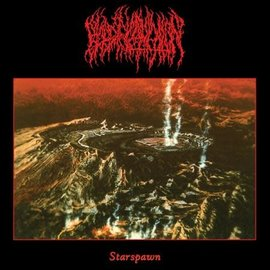 Blood Incantation – Starspawn LP yellow/black galaxy vinyl