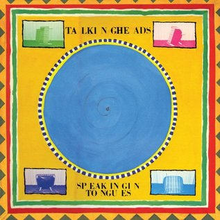 Talking Heads – Speaking In Tongues LP blue vinyl