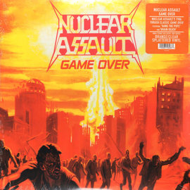 Nuclear Assault – Game Over LP orange/clear splatter vinyl