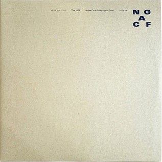 1975 – Notes On A Conditional Form LP clear vinyl