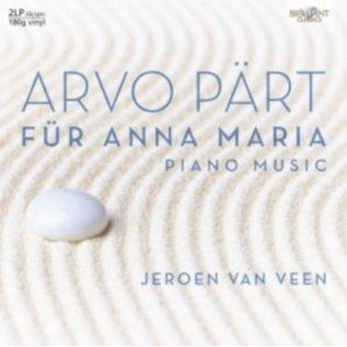 Arvo Pärt - Jeroen van Veen – Für Anna Maria (Piano Music) LP