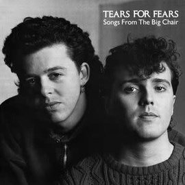 Tears For Fears – Songs From the Big Chair LP picture disc