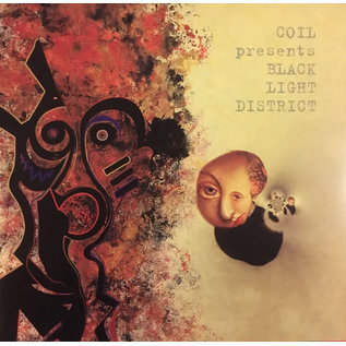 Coil Presents Black Light District ‎– A Thousand Lights In A Darkened Room LP red vinyl