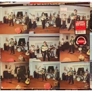 Talking Heads – The Name Of This Band Is Talking Heads LP red vinyl