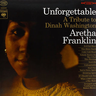 Aretha Franklin ‎– Unforgettable - A Tribute To Dinah Washington LP
