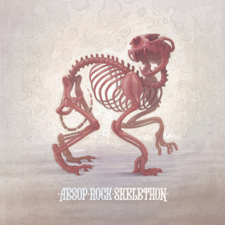 Aesop Rock ‎– Skelethon LP red vinyl