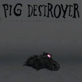 "Pig Destroyer – The Octagonal Stairway 12"" EP metallic silver vinyl"