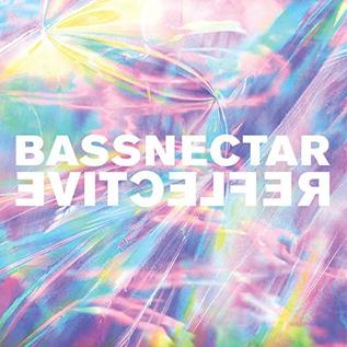Bassnectar – Reflective (Parts 1 & 2)  LP pink/blue marble vinyl