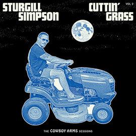 Sturgill Simpson – Cuttin' Grass Vol. 2 (Cowboy Arms Sessions) LP clear blue white indie exclusive vinyl