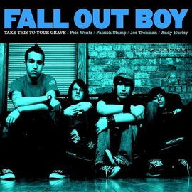 Fall Out Boy ‎– Take This To Your Grave LP silver vinyl