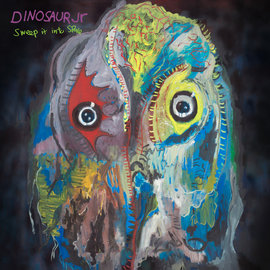 Dinosaur Jr. ‎– Sweep It Into Space LP purple ripple vinyl