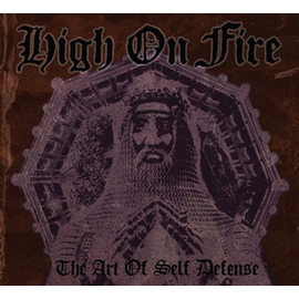 High On Fire ‎– The Art Of Self Defense LP shirtless vinyl