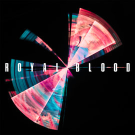 Royal Blood ‎– Typhoons LP translucent blue vinyl