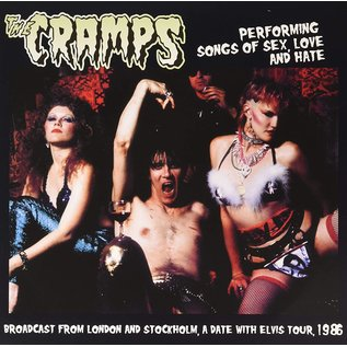 Cramps ‎– Performing Songs Of Sex Love And Hate LP